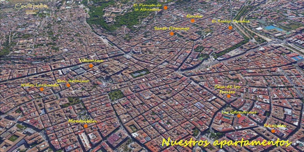 Ático 4 personas Granada 35